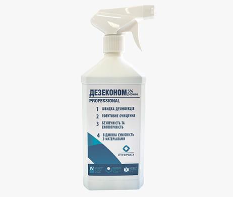 Інтердез Дезеконом (5% розчин) - дезінфекційний засіб